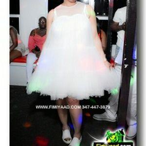 A white dress
